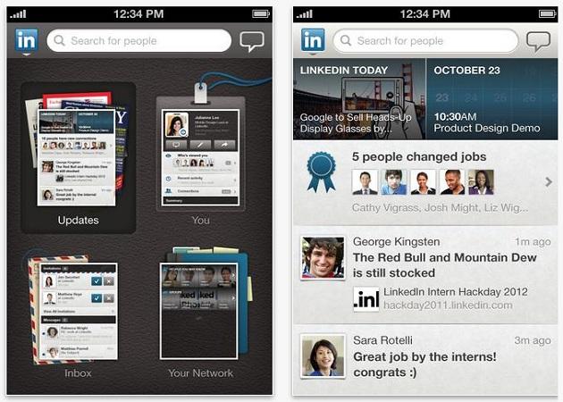 LinkedIn ya tiene aplicación para el iPad