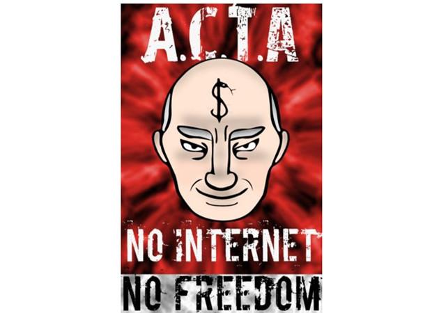 Vicepresidenta UE: El tratado antipiratería ACTA no entrará nunca en vigor