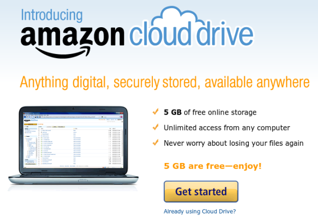 Cloud Drive de Amazon estrena aplicaciones de escritorio