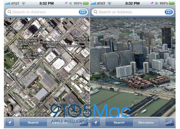 Apple estrenará servicio de mapas propio en el sistema móvil iOS 6
