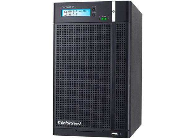 Infortrend EonNAS Pro 800, almacenamiento inteligente para pymes y profesionales