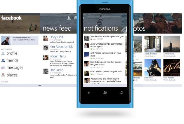 Microsoft quiere que Facebook piense en Windows Phone