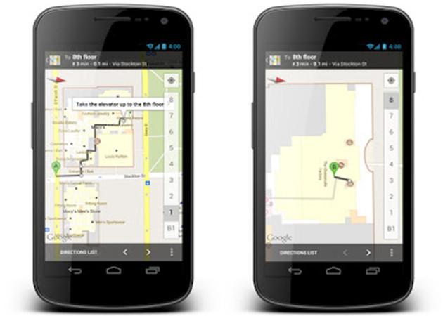 Google Maps 6.7 Android con guiado en interiores y ofertas