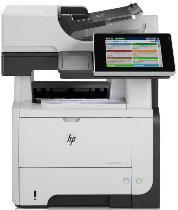 HP Enterprise 500 2 HP LaserJet Enterprise 500, a fondo