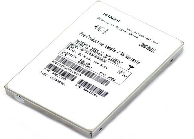 Hitachi anuncia la primera SSD 12 Gbit/s SAS de la industria