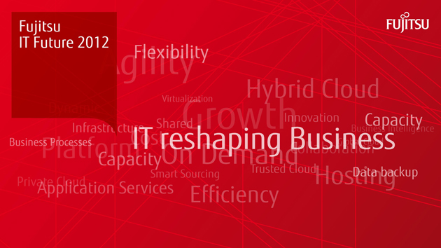 "Próximo evento Fujitsu ""IT Future 2012"""