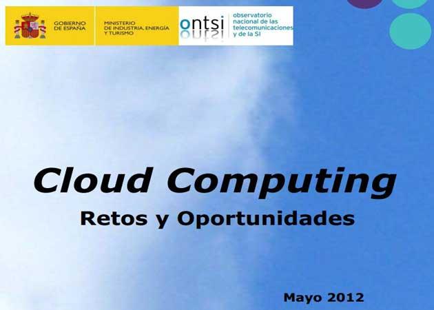 El cloud computing aportará 3.049 millones de euros al PIB español en 2012