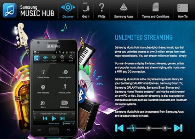 Samsung lanza Music Hub, su iTunes Killer