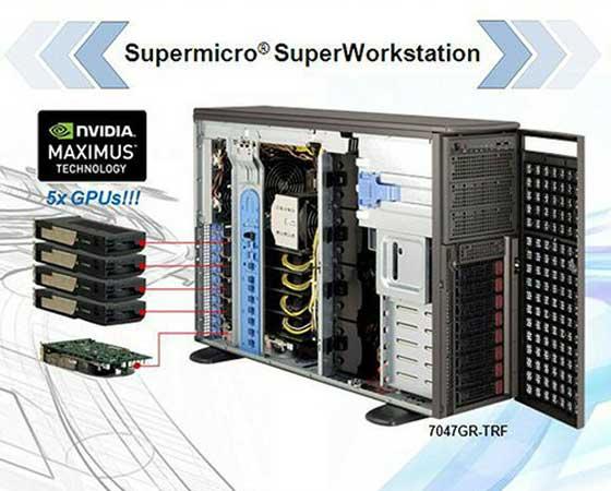 SuperMicro presenta SuperWorkstation X9 con cuatro GPU Tesla de NVIDIA