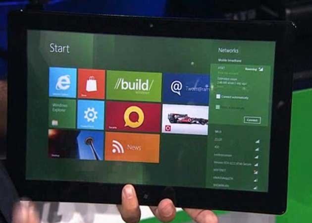 Tablets Intel con Windows 8 estarán disponibles en noviembre