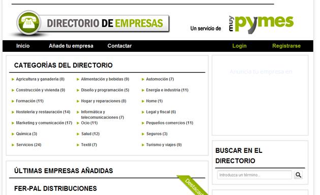 MuyPymes crea un nuevo directorio de empresas