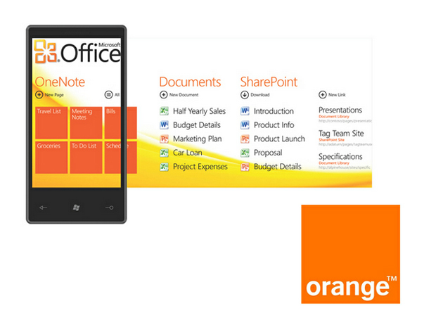 Microsoft y Orange