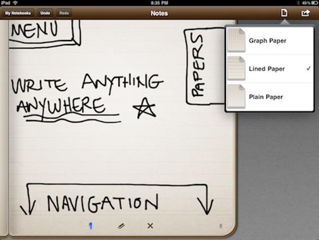 Evernote compra la aplicación para tomar notas Penultimate