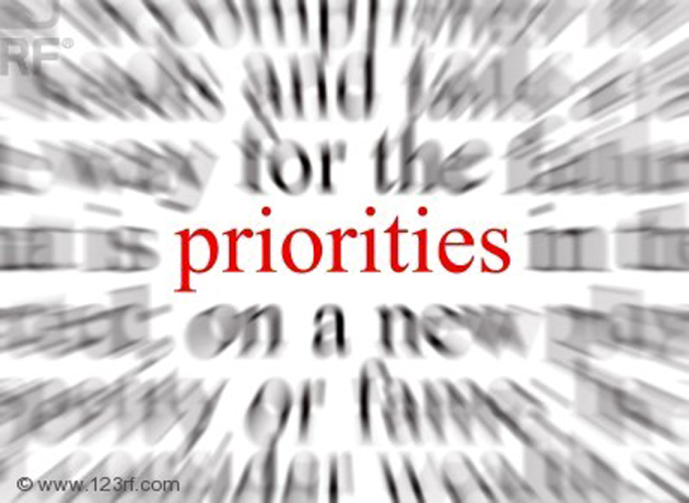 Las cinco prioridades de los departamentos de tecnología en 2012