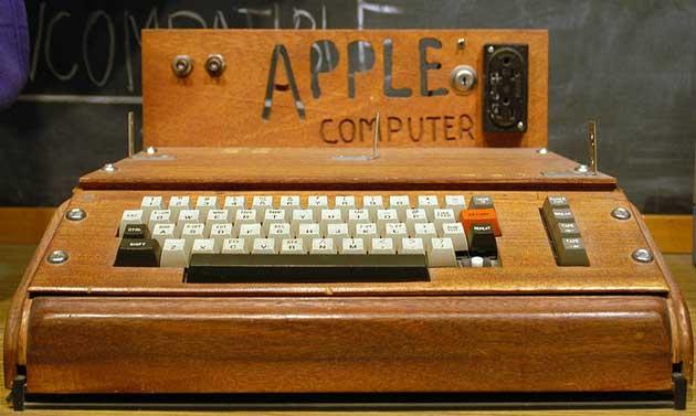 Subastado un Apple I por 374.000 dólares