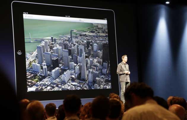 Apple anuncia servicio de mapas propio y prescinde de Google Maps