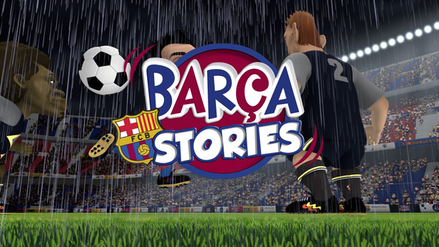 HP produce la serie Barca Stories con MUF Animation