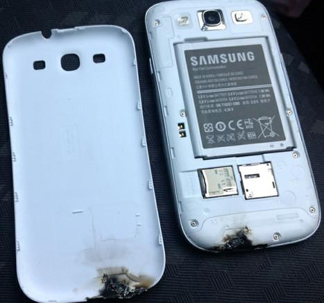 Samsung investiga el incendio de un Galaxy S III en Irlanda