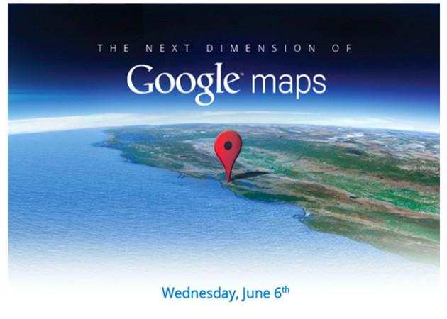 Google Maps entrará en una 'nueva dimensión' el 6 de junio