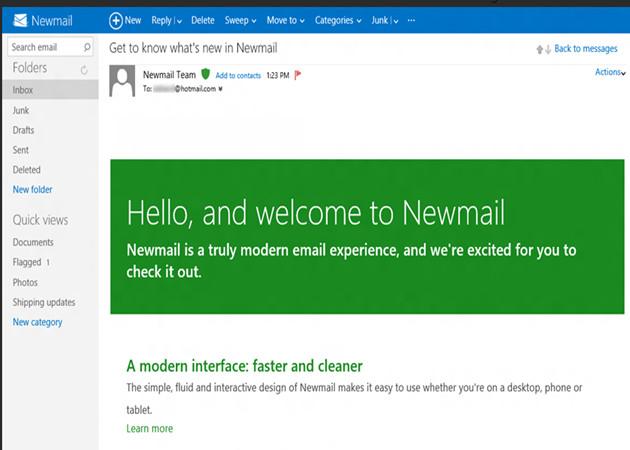 Así será el nuevo Hotmail con estilo Metro para Windows 8