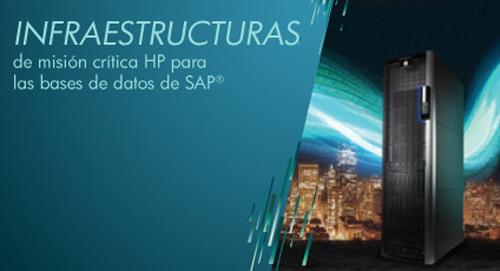 "Seminario gratuito ""Infraestructuras de Misión Crítica HP para las Bases de Datos de SAP"""