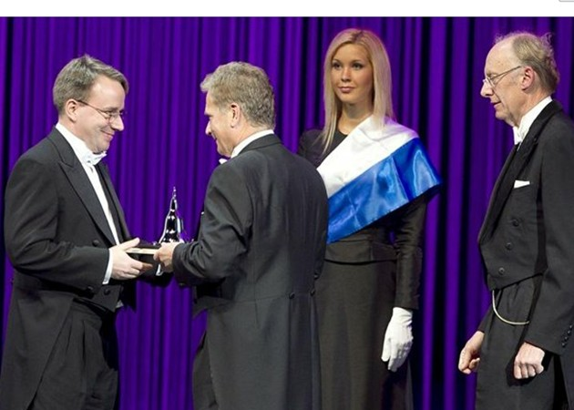 Linus Torvalds recibe el 'nobel' tecnológico
