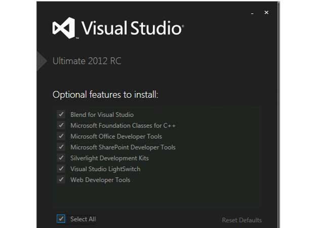 Microsoft publica la Release Candidate del Visual Studio 2012