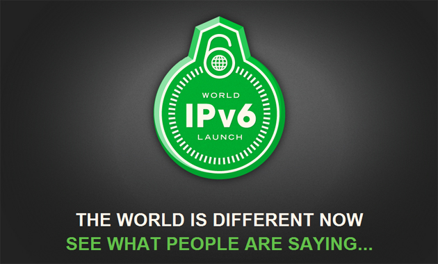 Hoy se celebra el World IPv6 Launch Day: el IPv6 ya está aquí