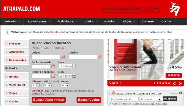 Atrapalo.com confía en Cotendo para acelerar sus servicios web en España y América Latina