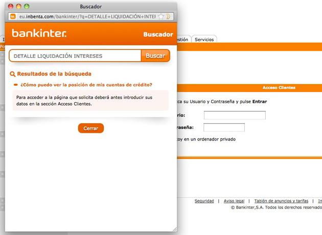 Inbenta desarrolla un sistema de respuestas automáticas en la web de Bankinter Empresas