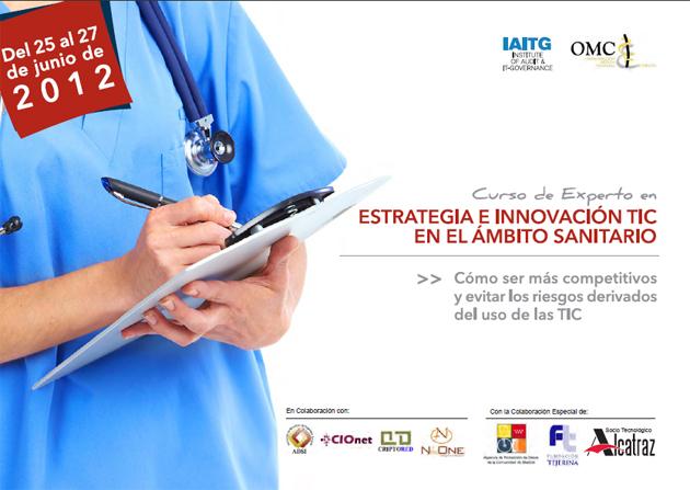 Curso de Experto en Estrategia e Innovación TIC en el ámbito sanitario