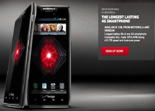 El Motorola RAZR MAXX te permitirá hablar más con tu teléfono de empresa