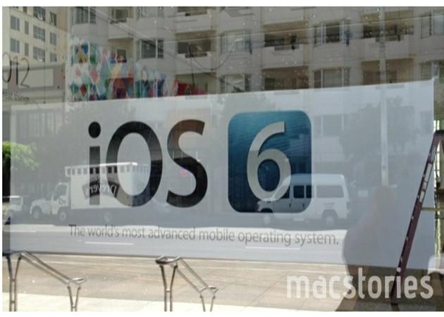 iOS 6 anunciado en carteles del WWDC 2012
