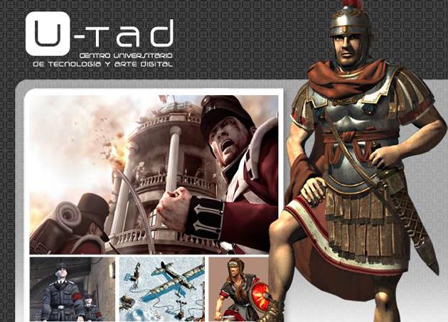 """""""Máster en Arte y diseño visual de videojuegos"""" de U-tad"""