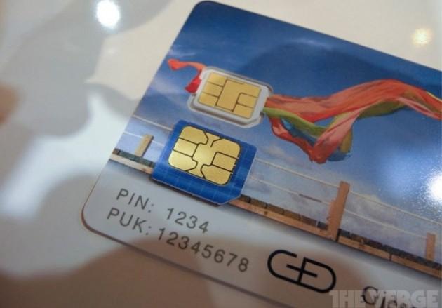 Aprobada como estándar la nano SIM de Apple