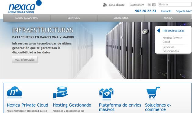 Nexica selecciona la tecnología de Cisco para diseñar un entorno cloud