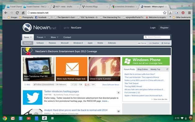 Google puede lanzar un tablet Chrome OS pronto