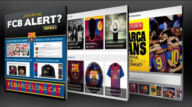 """El Barça lanza """"FCB Alert"""", una aplicación de Facebook desarrollada por MicroStrategy"""