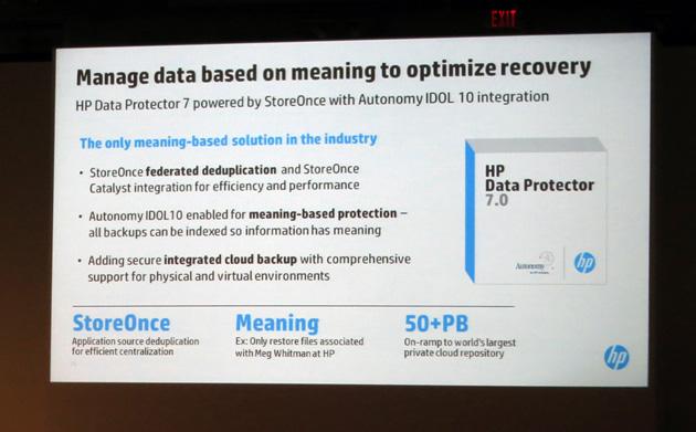 HP Data Protector 7, para gestionar el crecimiento explosivo de los datos