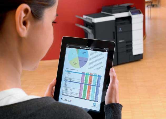 Konica Minolta ofrece impresión Cloud para dispositivos Android