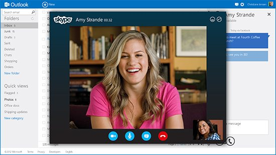 Outlook.com 3 Microsoft presenta el nuevo webmail Outlook.com