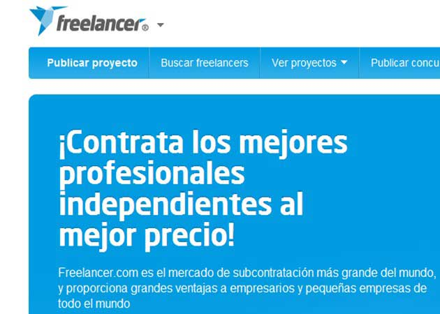 Freelancer abre portal en español