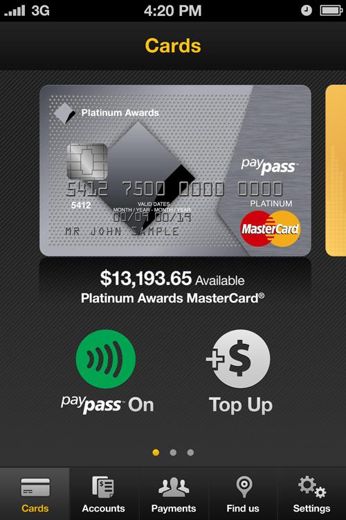 Commonwealth Bank of Australia App móvil