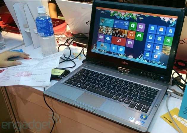 Fujitsu presenta convertible profesional para Windows 8