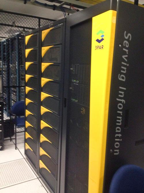 HP anuncia una configuración basada en SSD para su HP 3PAR P10000 Storage