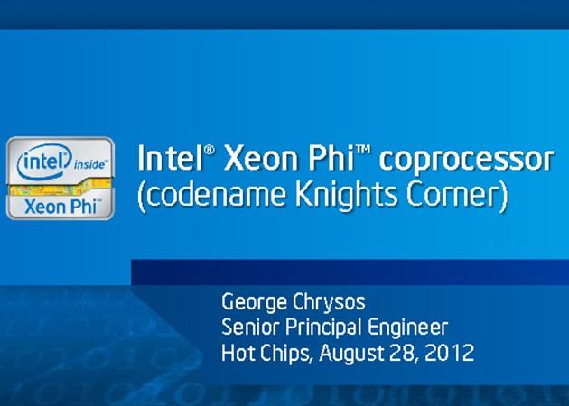 Intel detalla la arquitectura del Xeon Phi de 50 núcleos