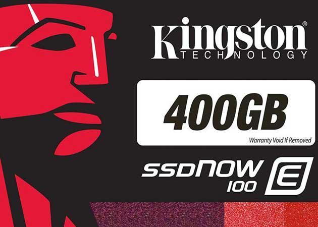 Kingston presenta las SSDNow E100 clase empresarial
