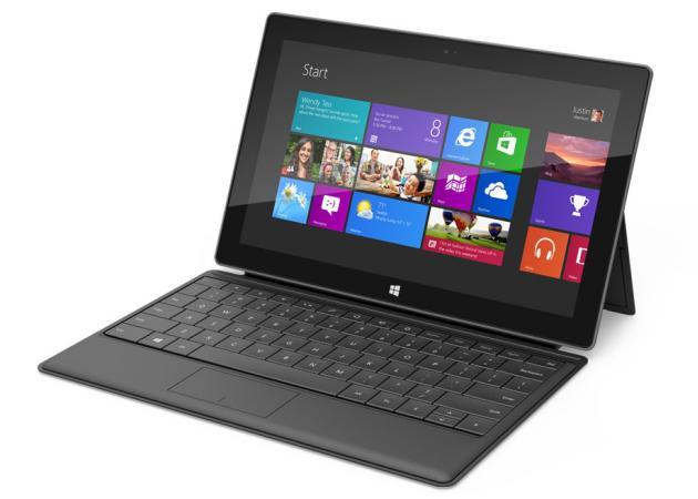 Microsoft encarga tres millones de tablets Surface