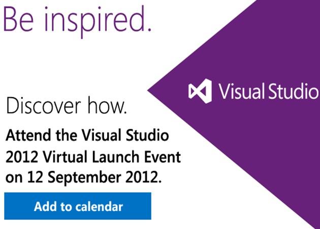 Microsoft Visual Studio 2012 completado; lanzamiento el 12 de septiembre