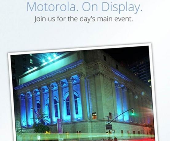 Motorola anuncia evento para el 5 de septiembre, el mismo día que Windows Phone 8